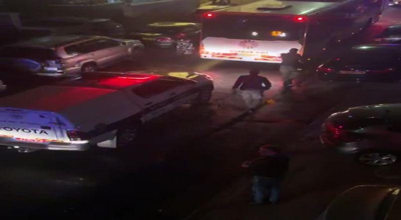 بالفيدو: الشرطة تقوم بتفريق حفل عرس في طمرة بمستعملة غاز مسيل للدموع