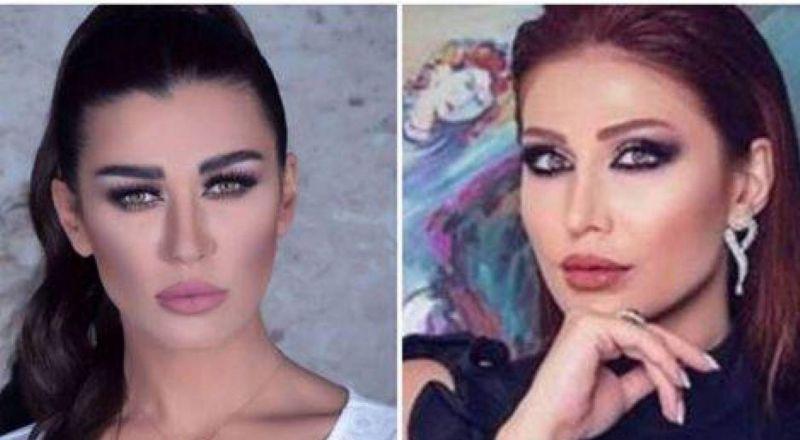 بعد الخلاف بينهما.. فيديو يكشف الحقيقة بين هبة نور ونادين الراسي