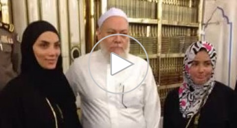 صورة لحورية فرغلي مع مفتي مصر تلهب مواقع التواصل الاجتماعي