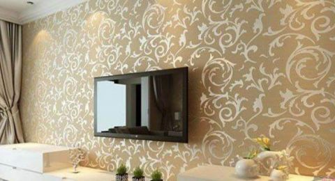 امنحي غرفة طعاكم لمسة أنيقة وعصرية بأجمل تصاميم ورق الجدران