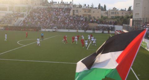 صور اضافية من مباراة فلسطين والسعودية