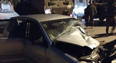 الجيش الاسرائيلي يطلق النار على شاب بتهمة محاولة دهس قرب رام الله