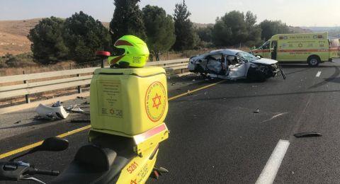 حادث سير مروع أواسط البلاد يسفر عن مصرع صبية والدتها الحامل