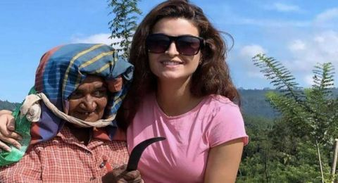 علا الفارس تحقق حلمها في سريلانكا!