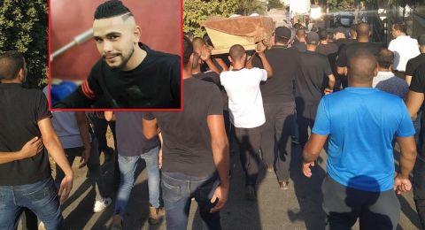 عارة: تشييع جثمان القتيل محمد عدنان حمدان (ضعيف)