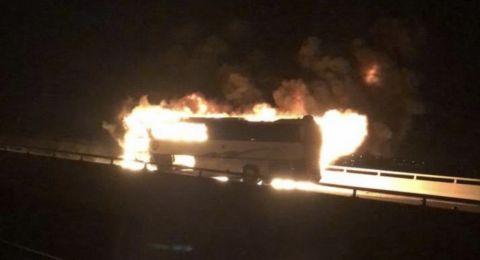فاجعة: مصرع 35 معتمرا باحتراق حافلة بين مكة والمدينة المنورة