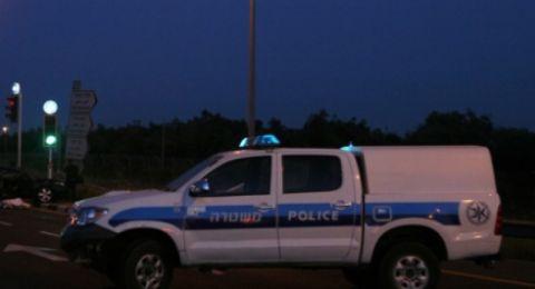 شعب: الشرطة تعتقل المشتبه بحادثة الدهس ليلة أمس