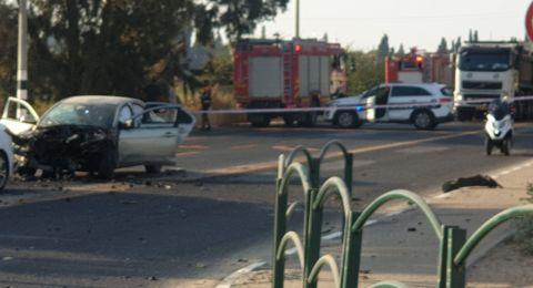 انفجار سيارة في وادي عارة و3 اصابات