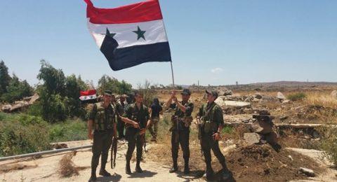 طلائع الجيش السوري تصل إلى مدينة الرقة شمال شرق البلاد