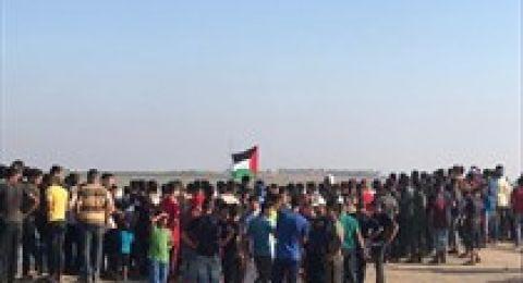 69 اصابة بنيران الاحتلال على حدود غزة