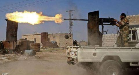 أول اشتباكات بين القوات التركية والسورية قرب منبج