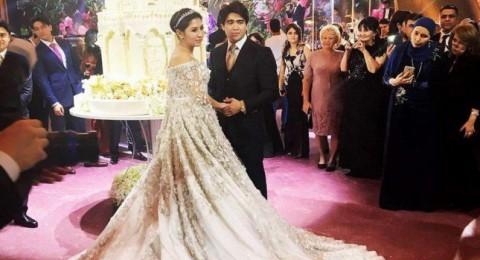 600 ألف دولار قيمة فستان زفاف عروس روسية فمن هي؟