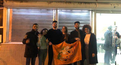التجمع الطلابي يحافظ على تمثيله بنقابة الطلاب بجامعة حيفا ويحصل على 6 مقاعد ويحصل على 575 صوتًا إضافيًا