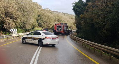 4 إصابات بينها خطيرة بحادث طرق قرب بسمة طبعون