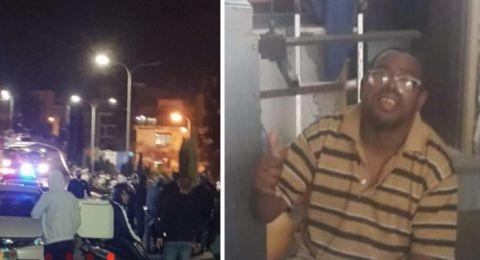 (فيديو) حيفا: مصرع محمد فياض (29 عاما) دهسًا واحتجاجات في اعقاب ذلك