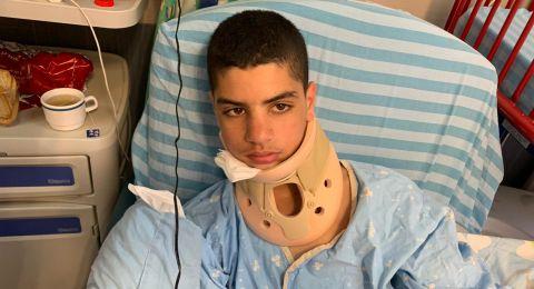 تحسّن في صحة الفتى مصطفى حامد المصاب بجريمة جلجولية