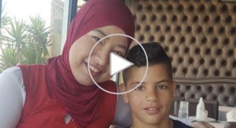 صفاء عبد الغافر خالة الفتى مصطفى حامد من جلجولية: طرأ تحسن على حالة مصطفى وبدأ بالتحدث والتحرك