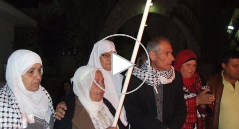 بانطلاق فعاليات يوم الاسير.. ايقاد شعلة الحرية ببيت الاسير كريم يونس