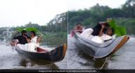 عروسان هنديان يلتقطان صور قبل الزفاف.. وعندما طلب المصور تقبيل بعضهما حدثت المفاجأة