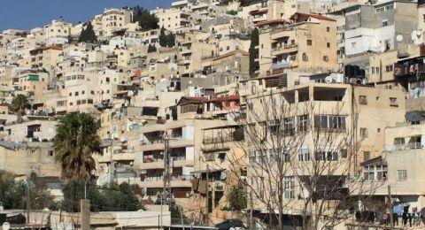 سلوان : مئات العائلات المقدسية مهددة بالترحيل