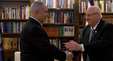 رئيس الدولة يكلف بنيامين نتنياهو مهمة تشكيل الحكومة الجديدة