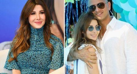نانسي عجرم تنشر صورة محرجة لزوجها... مرتدياً ملابسها!