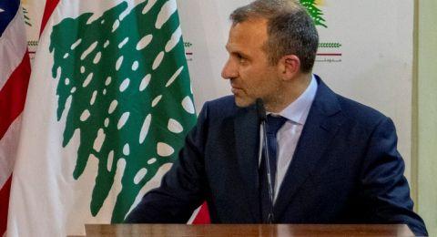 مستشار وزير الخارجية اللبناني: خبر اللقاء المزعوم بين باسيل ومسؤول إسرائيلي مضحك