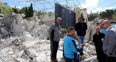 الوزير فادي الهدمي يدعو لوقف هدم البيوت في القدس