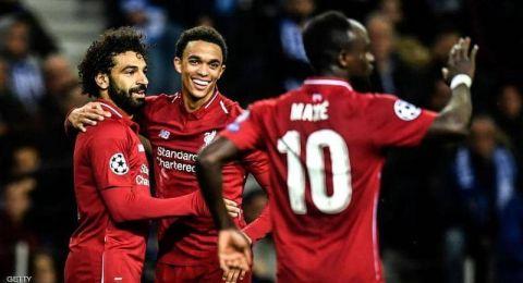 تأهل ليفربول وتوتنهام هوتسبير لنصف نهائي دوري الأبطال