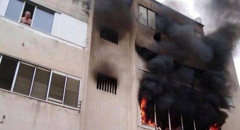 نداء عاجل للتبرع لعائلة فقدت كل ما تمللك بحريق بيتها قبل ٣ ايام. بحيفا.