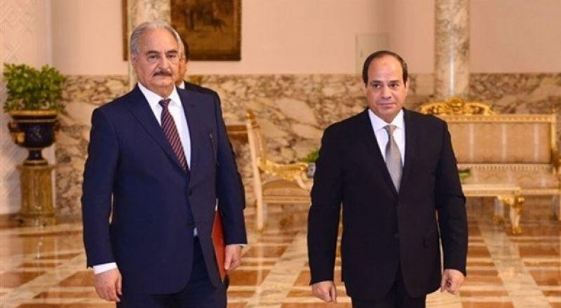 السيسي يعلن دعمه حرب حفتر على الإرهاب..وقوات السراجِ تسقط طائرة حربية