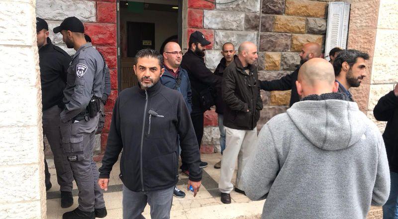 الشرطة الاسرائيلية تمنع فعالية رياضية في ملعب بيت صفافا جنوب القدس