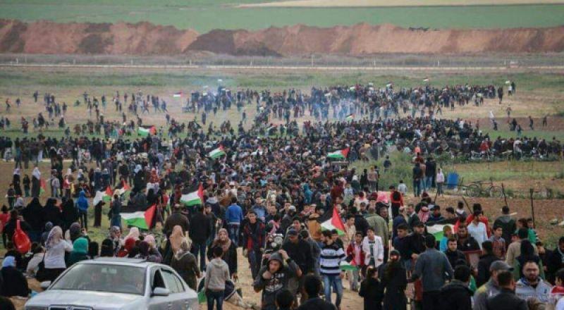 الفلسطينيون يستعدون للمشاركة بجمعة الأسير على حدود غزة