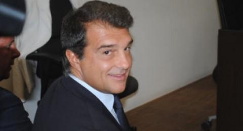 لابورتا يؤكد ترشحه لانتخابات رئاسة برشلونة