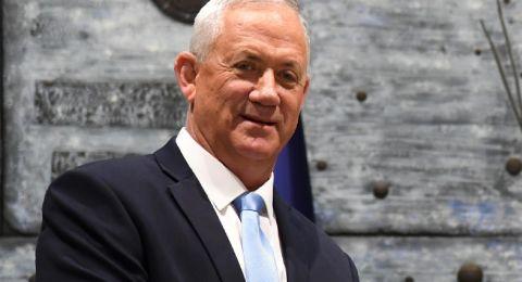غانتس: لن أوافق على  فرض السيادة في مناطق يقطنها سكان فلسطينيون كثر