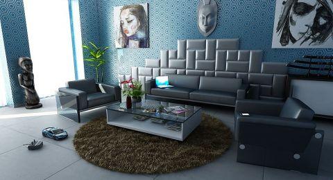 أفكار عصرية لتصميم ديكور مودرن لغرفة المعيشة