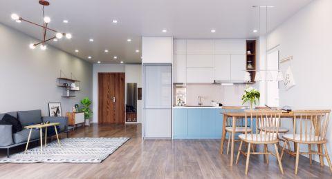ديكورات صالات مفتوحة على المطبخ