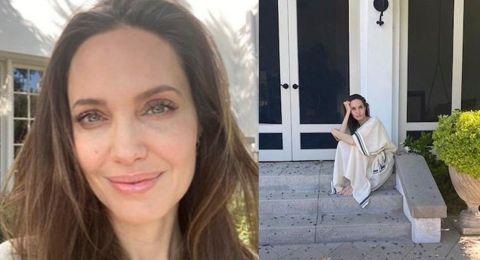أنجيلينا جولي أثناء الحجر: هادئة لأجل أطفالي