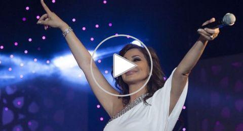 فيديو نادر لإليسا وهي تغني لميادة الحناوي منذ 28 عاما.. جمالها يخطف الجمهور