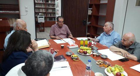 انتخاب أعضاء جدد في مجمع اللغة العربية في الناصرة