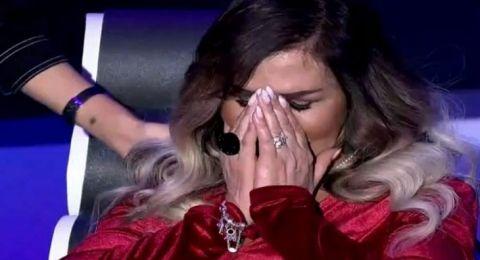 مها المصري تبكي بسبب التشوه الذي أصابها من فشل عمليات التجميل