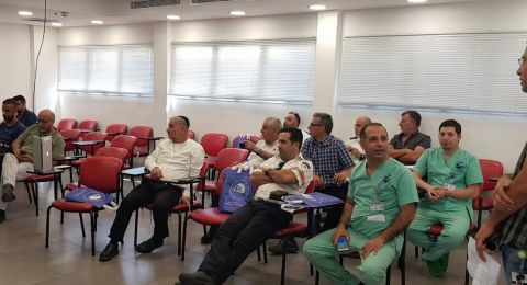 تعزيز التعاون مع خدمات الاسعاف في باده بوريا