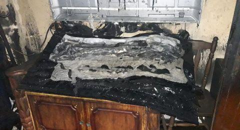 حريق بالناصرة وتخليص عالقين .. وحريق آخر في طمرة وإصابة شخصين