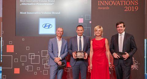 هيونداي موتور Hyundai Motorتفوز بجائزتين للابتكار من مركز إدارة المركبات وشركة