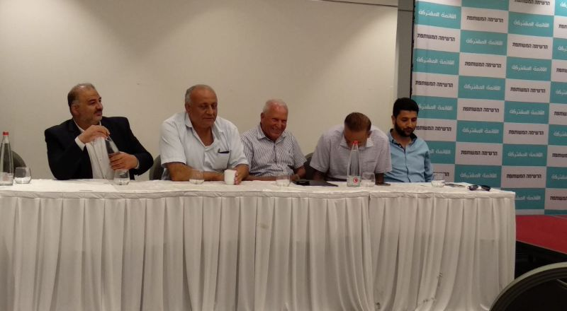 تأجيل الاعلان عن القائمة المشتركة حتى توافق باقي الأحزاب على التقسيم الذي اقرته لجنة الوفاق