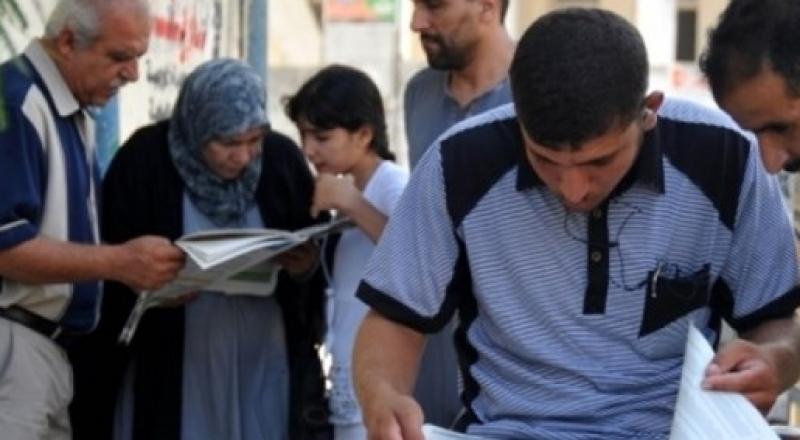 إعلان نتائج التوجيهي في فلسطين والعشر الأوائل