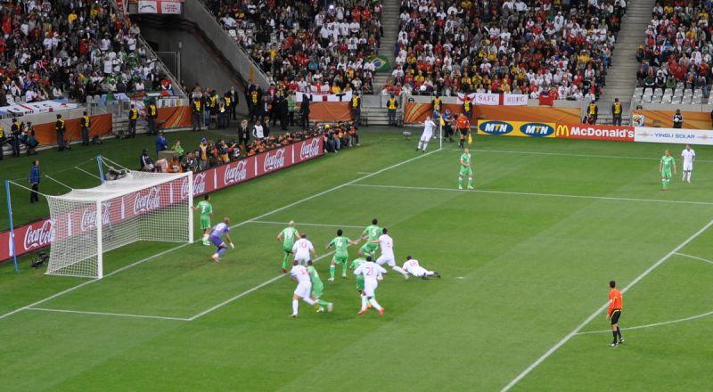 لاعبون جزائريون يهتفون لفلسطين داخل الملعب أثناء احتفالهم بالفوز ببطولة إفريقيا