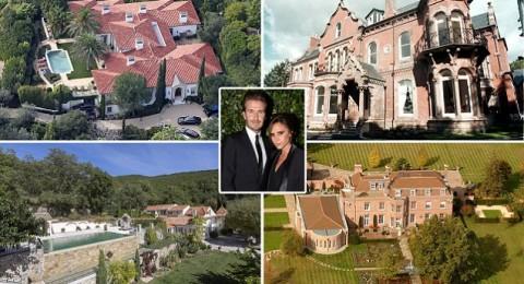 ديفيد بيكهام يعرض منزله للبيع في فرنسا لسبب غريب