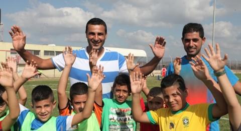 اتحاد ابناء كفرقرع يبدأ تدريبات مدرسة كرة القدم