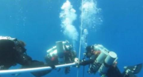 «غينيس» تسجل رقماً عالمياً لسباح مصري في الغوص